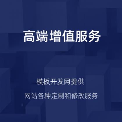各种网站增值服务项目